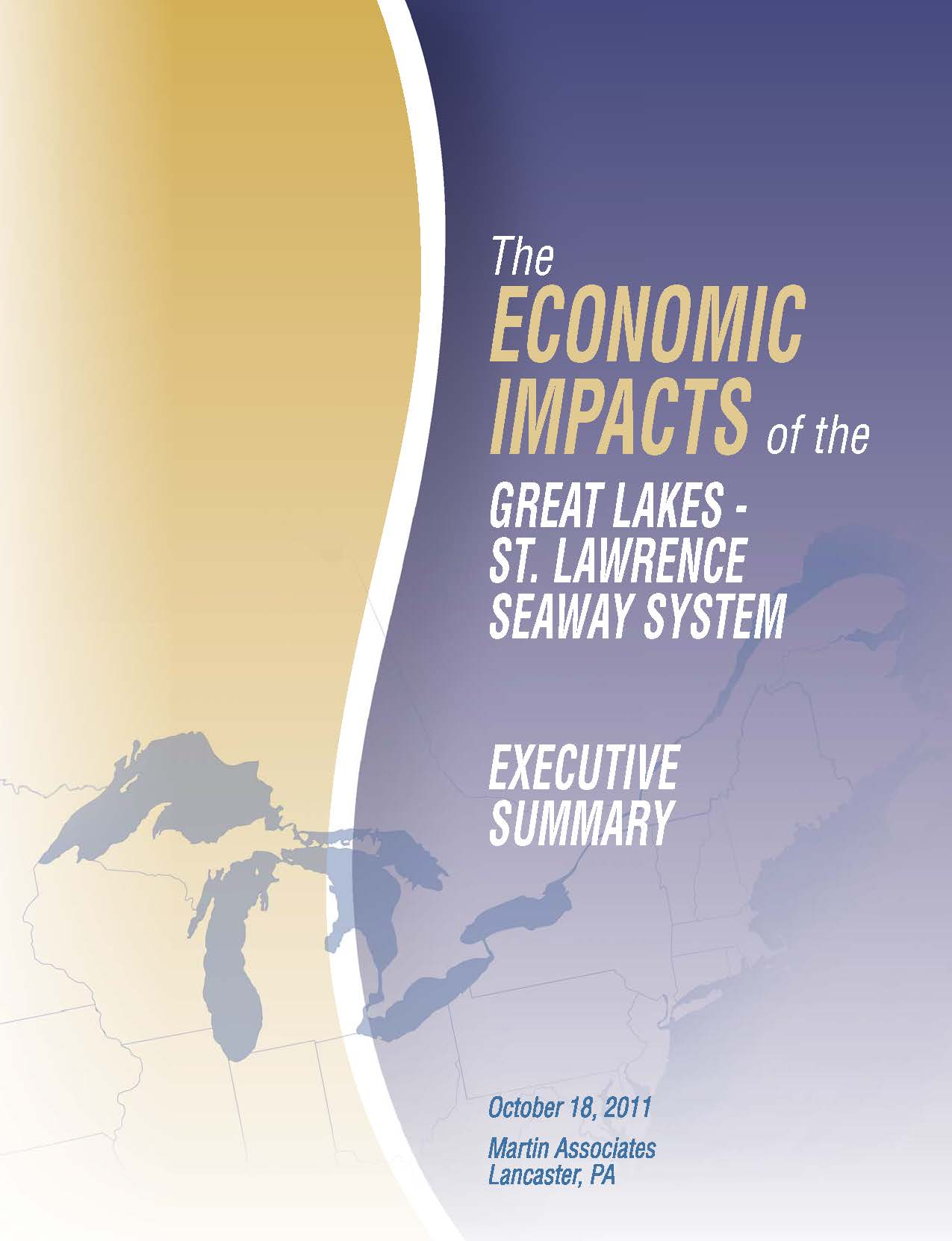 Economic Impacts of the Great Lakes-St. Lawrence Seaway System