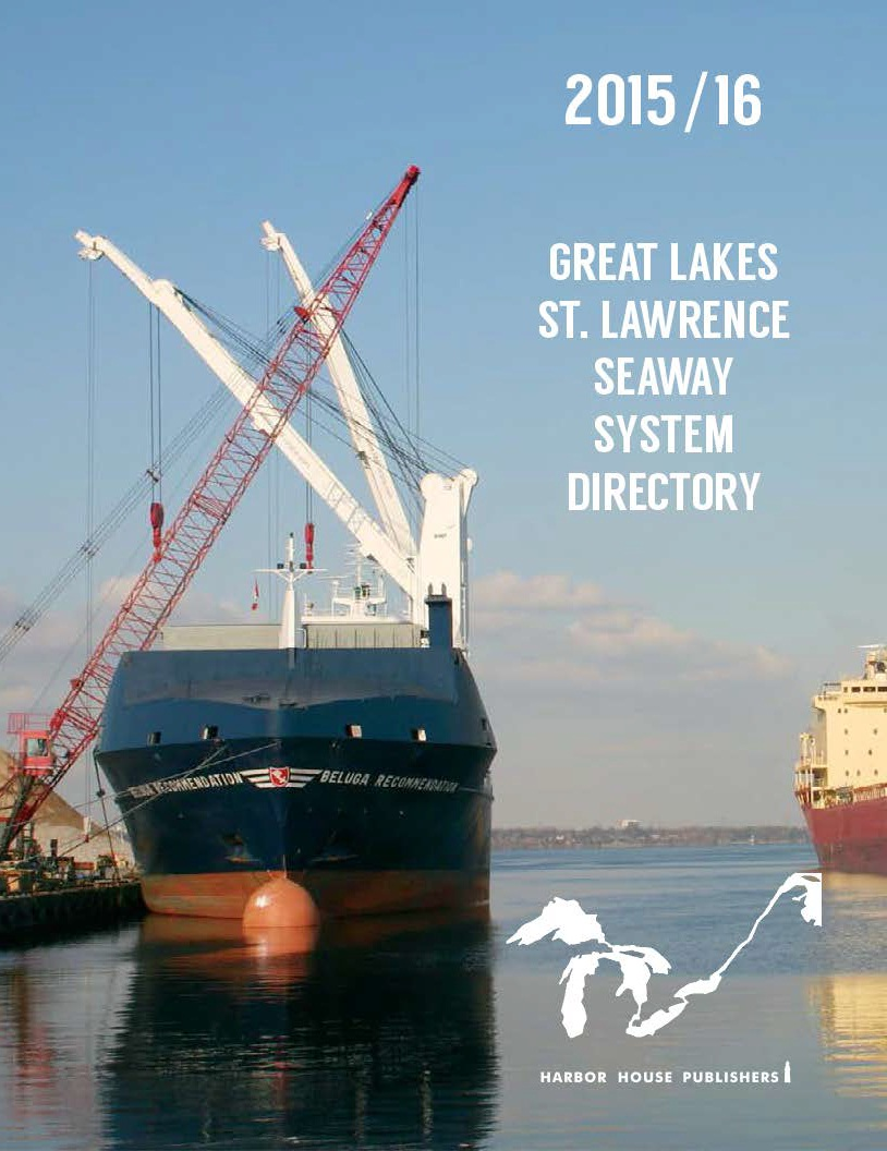 Cover for the Great Lakes 2015/16 Seaway System Directory